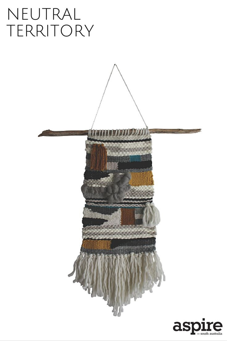 Jungle & Spritz woven wall hanging $185 from JungleAndSpritz https://instagram.com/jungleandspritz/  #Neutral #WallHanging #Shopping #Adelaide #SouthAustralia