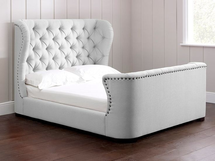 Best 25 Headboard And Footboard Ideas That You Will Like: Buttoned Headboard Beds Images On Pinterest