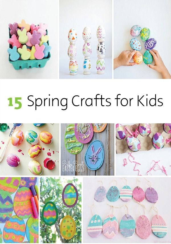 15 Spring Crafts for Kids | Break out the Bounty Paper Towels, paint, glitter, Mod Podge and other fun craft supplies for these colorful crafts the kids will enjoy.