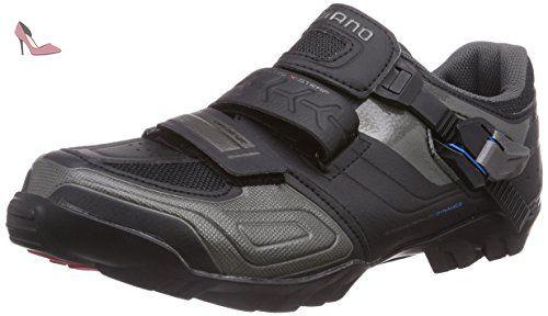 Shimano Shm089g460l, chaussures de cyclisme sur route mixte adulte, Noir (Black), 46 EU - Chaussures shimano (*Partner-Link)