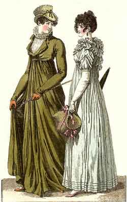 Journal des Dames et des Modes was a French fashion magazine first published in the late 18th century. Included in their issues were hand-colored fashion engravings.