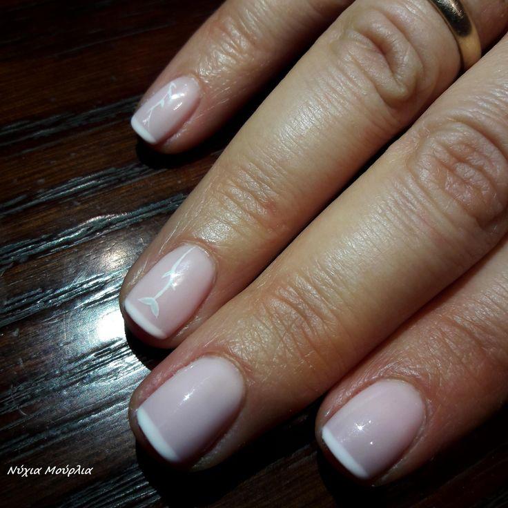 french nails~nailart ~handmade nails