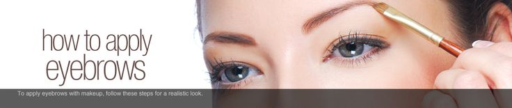 How to Draw On Eyebrows | How to Do Eyebrow Makeup