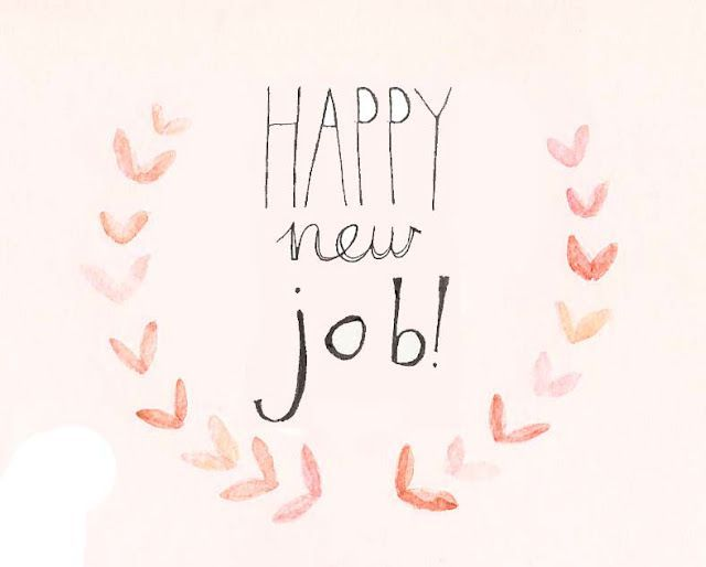 Happy new job Going Green: Our Army Adventure,  Finally, a Job Update   Blogtember