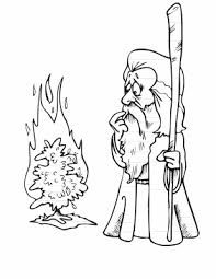 Картинки по запросу dibujo de la zarza ardiente