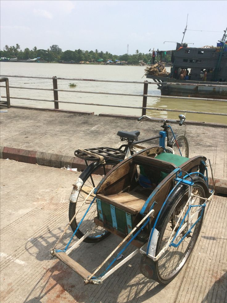 Parked vehicle at Pathein
