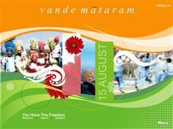 Vande Mataram With Independence Day HD Wallpaper,National Flag HD Wallpaper,Greetings HD Wallpaper And Images,15…