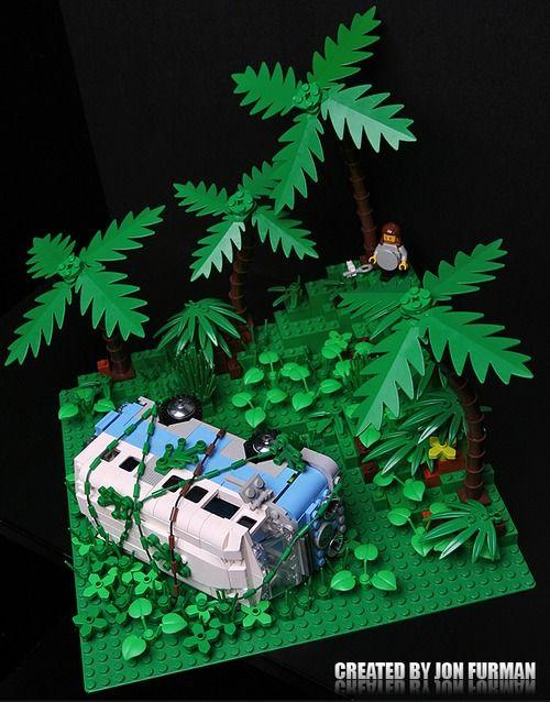 Dharma Van from 'Lost' by Jon Furman