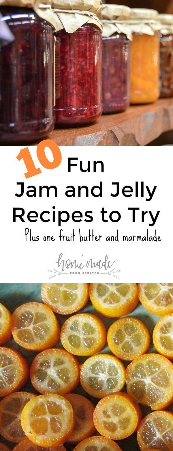 10 Adventurous Jam & Jelly Recipes to Try