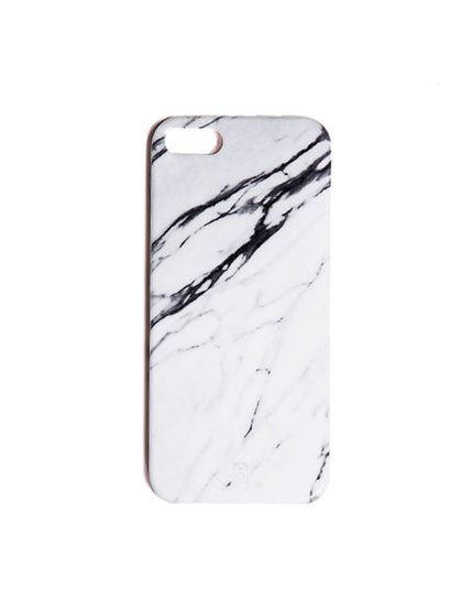 iPhone 5 Cover White Marble by Element