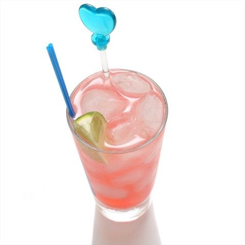 Pink Passion: 1 oz vodka - 1 oz Passoa Passion fruit liqueur - 1 tbs fresh lime (lemon) juice - lemon-lime soda. Put vodka, liqueur and lime juice in a glass with ice cubes and sti to combine. Top off with soda. Garnish with lime wedges.