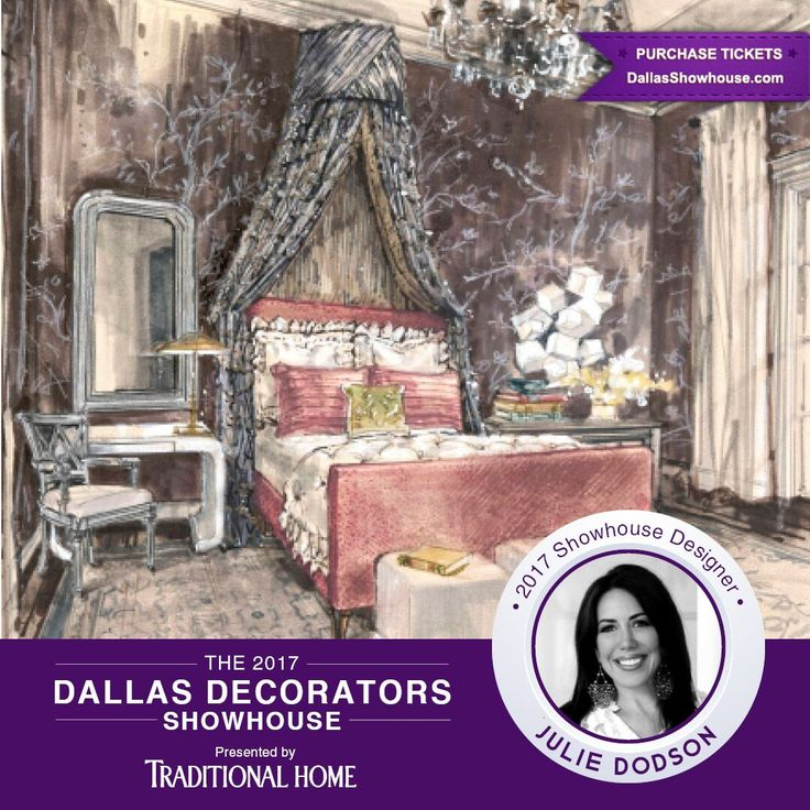 """Julie Dodson, creative director of award-winning Dodson Interiors, studied at Ole Miss where she received her Bachelor of Interior Design. Her fashion and design skills were honed while working with some of Houston's top design firms. Recognized for her fresh approach on classical style, Julie has adopted the phrase """"Casual Glamour"""" as her trademark. #DallasShowhouse"""