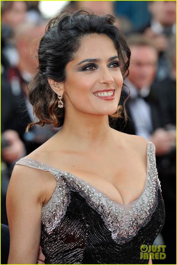 Salma Hayek en Cannes photos
