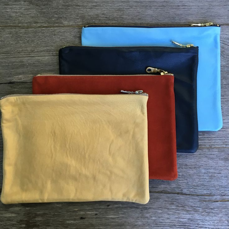 One of each left in our limited edition pouches at the $59 price online in the limited stock pieces