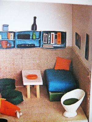 egg carton chair