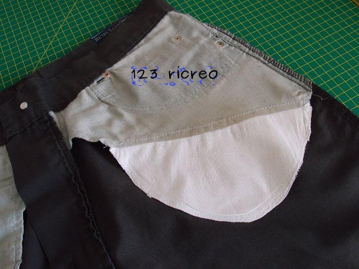 come si ripara una #tasca bucata - #tutorial 123ricreo