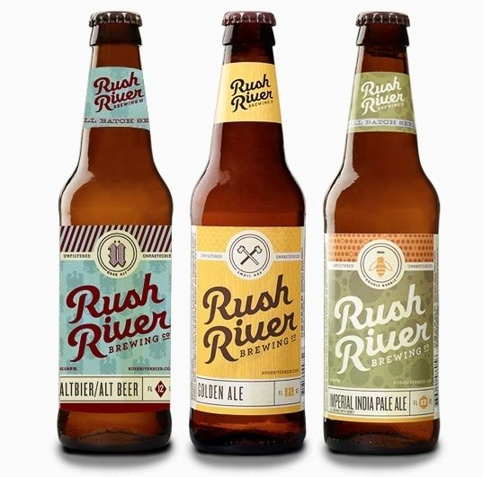 beer bottle labels in different colors | Art and Craft Brews: 15 Beer Labels That We Love