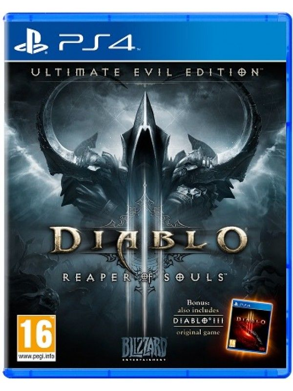 Diablo III Ultimate Evil Edition Reaper of Souls (PS4)
