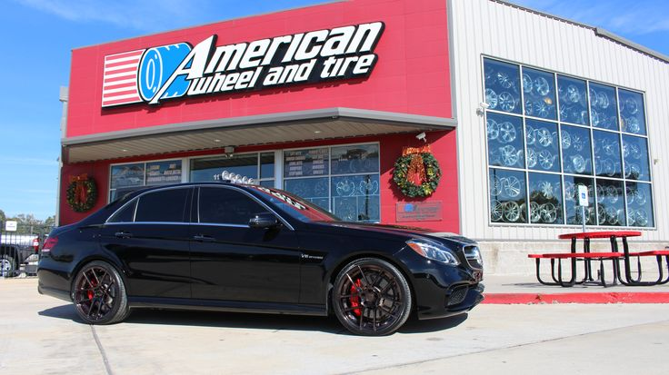 #AvantGarde #Wheels M510 in custom Smoked Mirror finish on a #Mercedes #E63. 20x8.5 front w/ 255/30-20 and 20x10 rear w/ 295/25-20 #Pirelli #tires. #AvantGardeWheels #MercedesE63 #Pirellitires #customwheels #customrims - http://www.americanwheelandtire.com/  We finance! No credit needed! $49 down! Instant approval! 90% approval rating! 90 day option! #Financing #WheelFinancing  Call us at (713)682-1085 for more information or apply online: http://tinyurl.com/z4cr3do