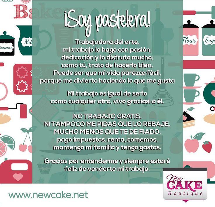 ¡Soy Pasteler@!.... y valoro mi arte.  www.newcake.net #newcakeboutique #weddingcake #cakeart #marcoantoniolopez #cursoscakes