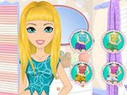 Free Online Girl Games, This young woman loves polka dots and she tries to make sure her wardrobe reflects that!  In Lots and Lots of Polka Dots, you'll have to give this girl a complete makeover using makeup, creams, lotions and more!  After the makeover, find a cute polka dot outfit for her to wear!, #makeover #dressup #girl #dress #makeup #spa