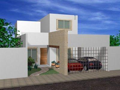 34 best images about fachadas casas on pinterest cute - Decoracion contemporanea ...