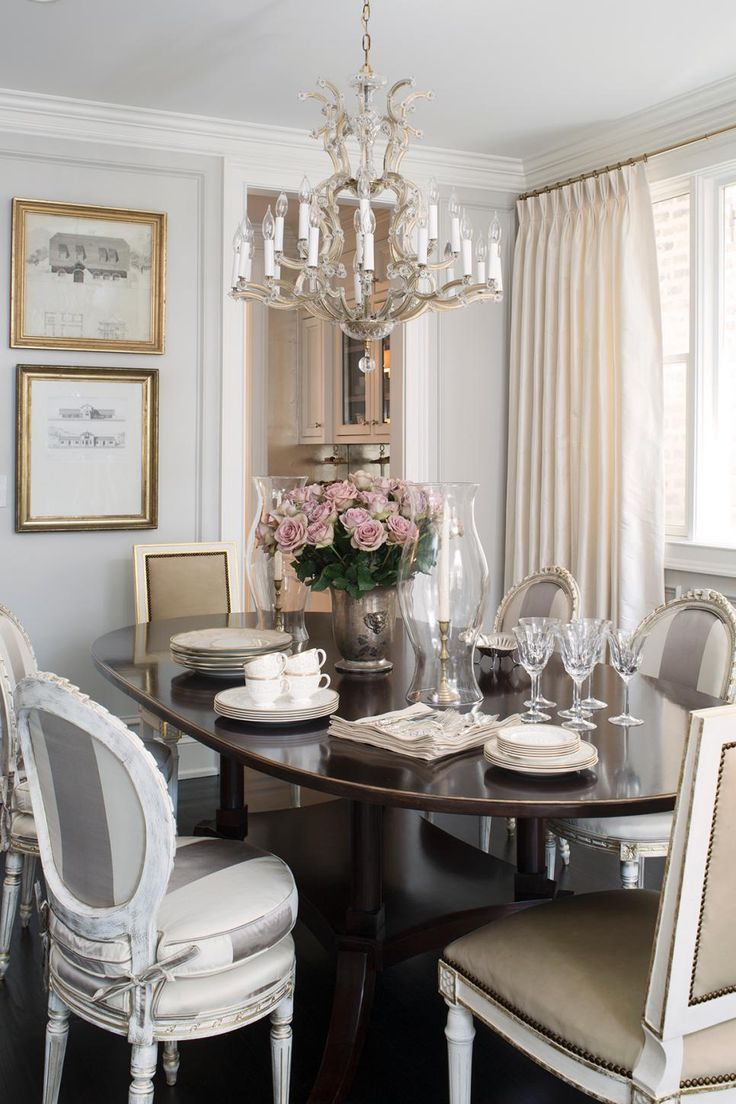 24 best furniture images on pinterest boston interiors bedroom the formal dining room evokes femininity and elegance a dark oval table features formal dishes