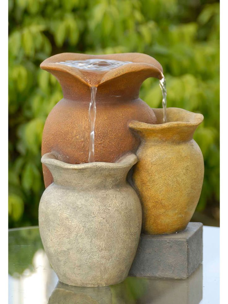 86 best Water Fountains images on Pinterest | Garden fountains ...