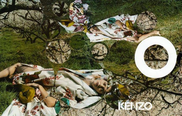 Carmen Kass by Yelena Yemchuk for Kenzo F/W 08