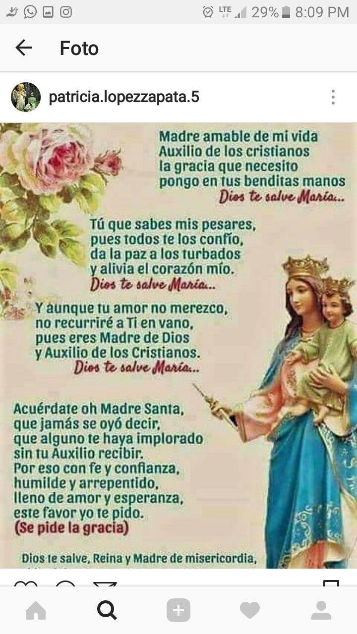 Pin De Fatima Davila En Fatima Davila Oraciones Oraciones