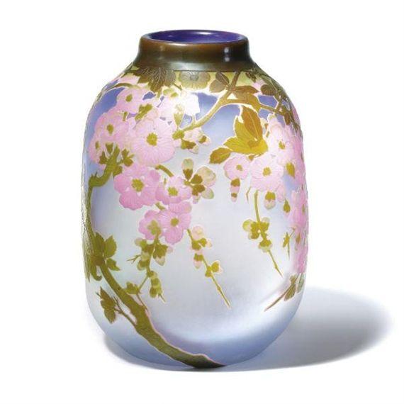 Apple Blossom Vase - Emile Galle (1900)