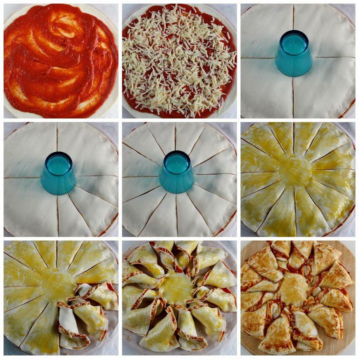 Sole di sfoglia pizza Collage