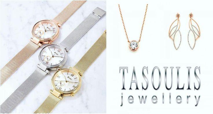 Νέα σειρά ρολογιών #ECLIPSE της #JCOU ❤️ και ολοκαίνουργια κοσμήματα #NEW_LOVE_ROSEGOLD απο την #JOOLS ❤️ αποκλειστικά στο κοσμηματοπωλείο #TASOULIS_JEWELLERY💎   Aποκτήστε τα τώρα! με δωρεαν εξοδα αποστολής!!! Ρολόγια απο 169€  Κολίε μονόπετρο ασημένια επιχρυσωμένοο σε ροζ χρυσό 39€  Σκουλαρίκια ασημένια επιχρυσωμένα σε ροζ χρυσό 89€