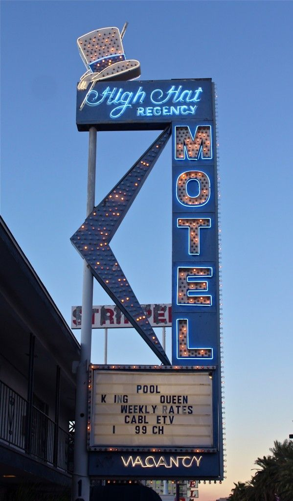 High Hat Regency Motel on the Las Vegas Strip