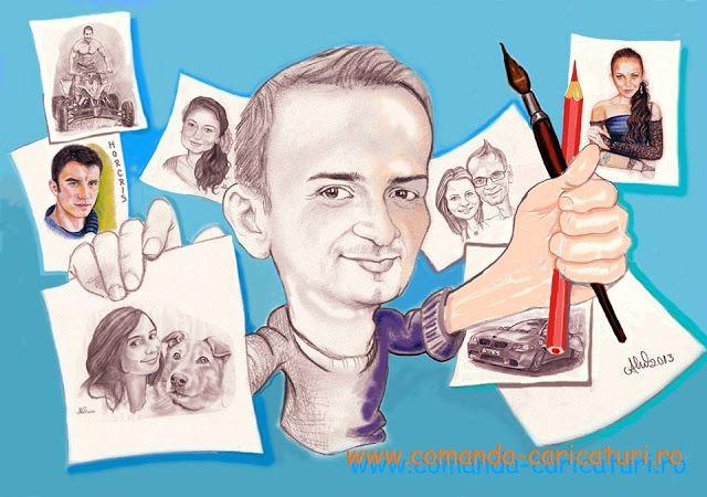 Newparts Info: Caricaturi, multe zambete si voie buna