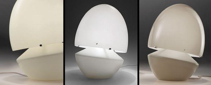 moderne glazen tafellampen