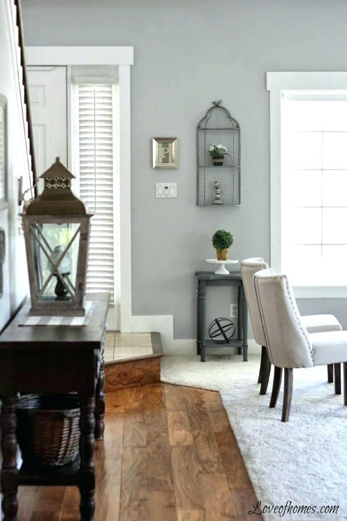 Light Wood Floors With Grey Walls Light Grey Walls White Trim