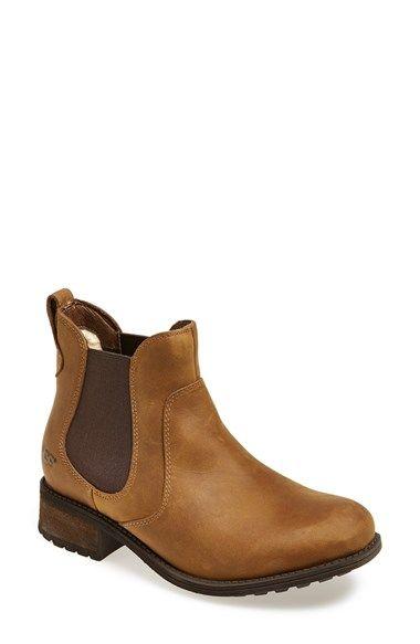 UGG® Australia 'Bonham' Water Resistant Chelsea Boot (Women) available at #Nordstrom
