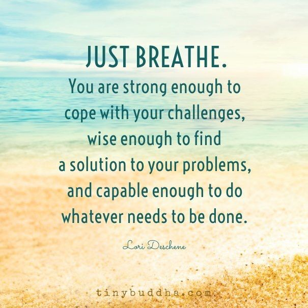 Just Breathe Tattoo Quotes Image Quotes At Hippoquotes Com: Quotes, Words Quotes