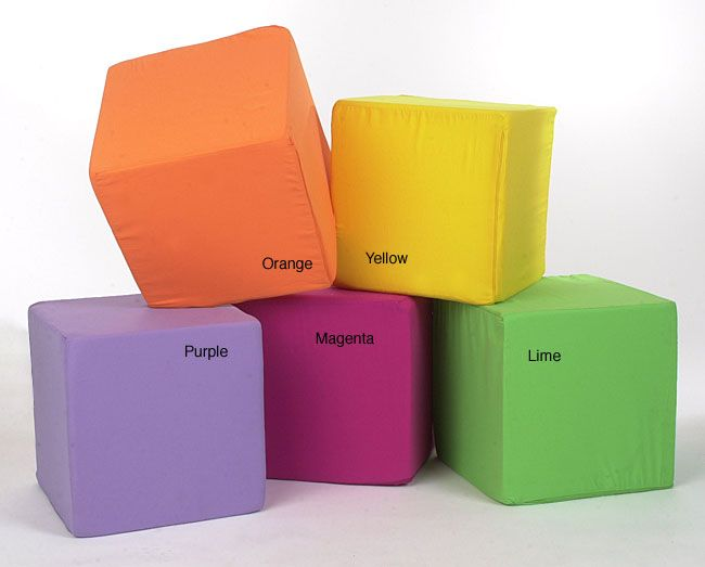 Neat Seat Foam Cube Ottoman Impact Kidz On Main