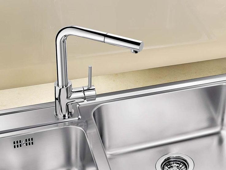 BLANCO MILA-S with Chrome finish.  #Blanco #BlancoMilaS