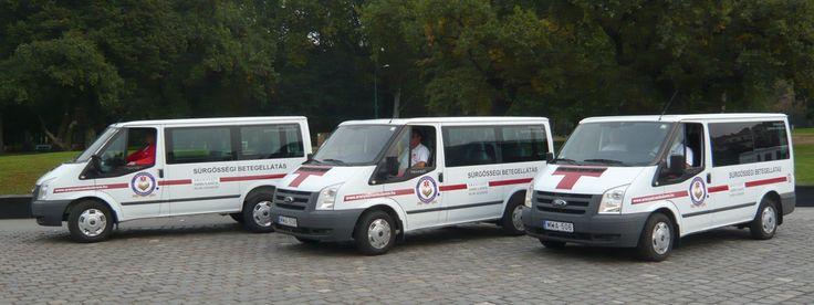 Flottánk - Aranyszív Ambulance: 3 betegszállító mikrobusz (csatolt szállítás)