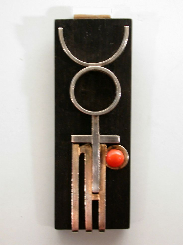 Theodor Bogler Bauhaus Pendant (Z) unique Ancient
