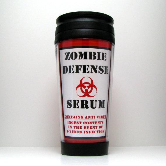 Resident Evil Zombie Apocalypse Travel Mug