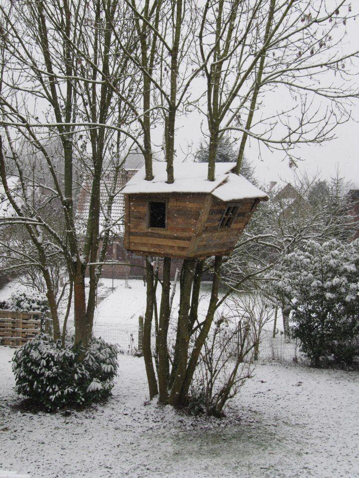 8 best diy cheapskate treehouse images on pinterest | tree houses