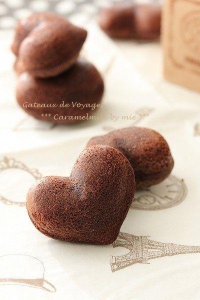 しっとり焼きショコラ・マドレーヌ (チョコレートの焼き菓子)バレンタインにも