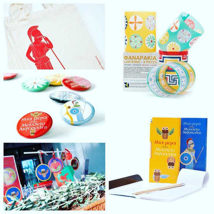 Kids collections for the Acropolis Museum Shop! Design: Elena Zournatzi Production & Patent : Prepack