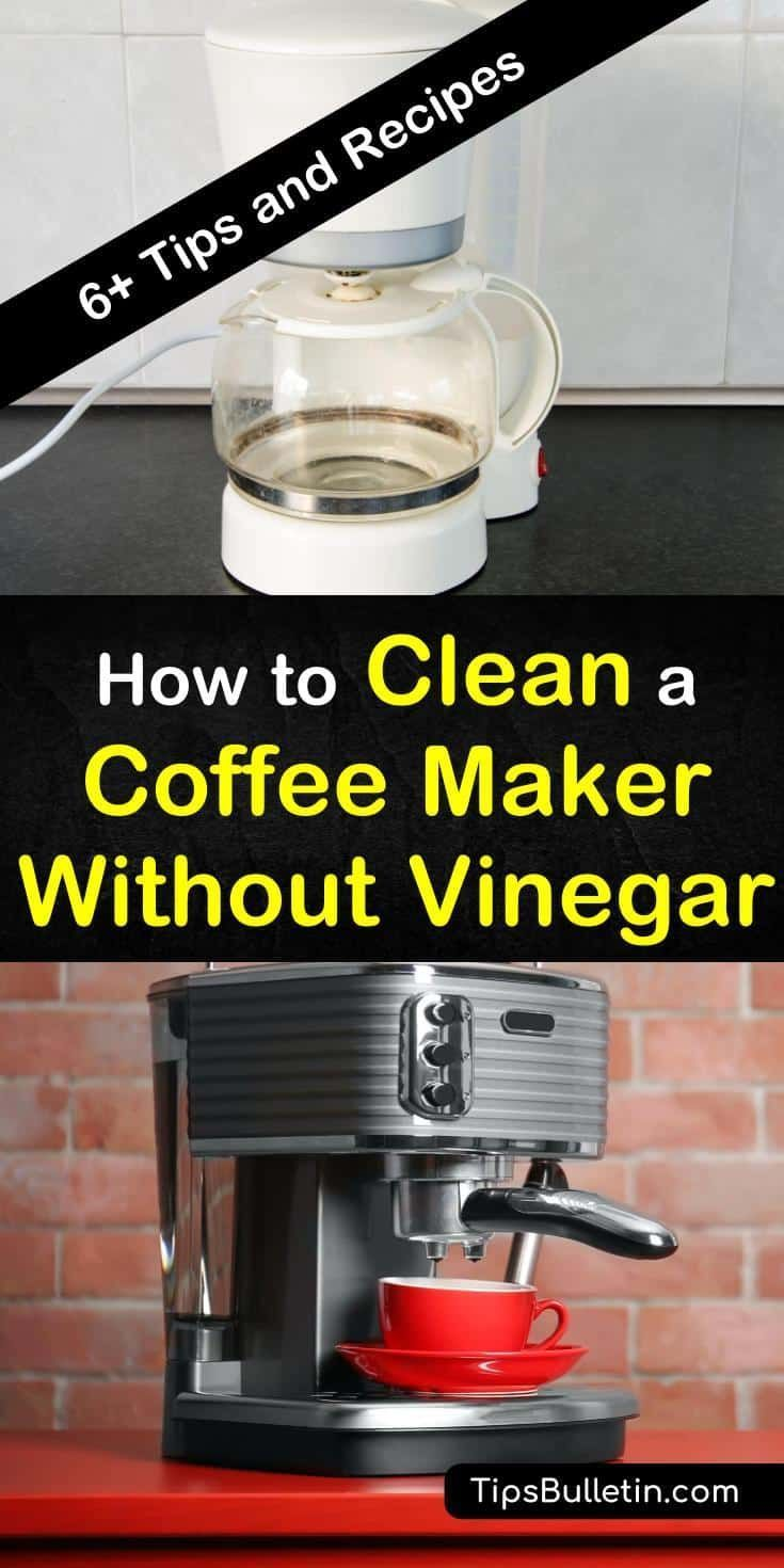 Viola Family: Clean Coffee Pot With Vinegar And Water
