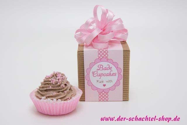 Free printable und Rezept für Bade Cupcakes. Www.der-Schachtel-Shop.de