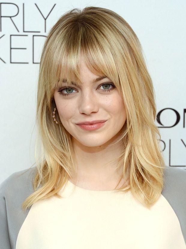 Emma Stone Revlon's NEW Nearly Naked Makeup Launch